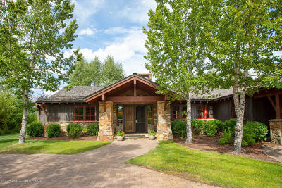 Jackson WY Single Family Home For Sale: $3,295,000
