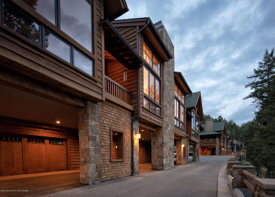 Jackson WY Condo/Townhouse For Sale: $3,250,000
