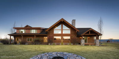 Teton Village, Tetonia, Driggs, Jackson, Victor, Swan Valley, Alta Single Family Home Pending Contingent: 1068 Miller Ranch Rd