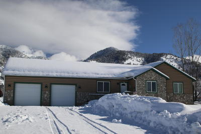 Star Valley Ranch Single Family Home For Sale: 199 Alta Dr