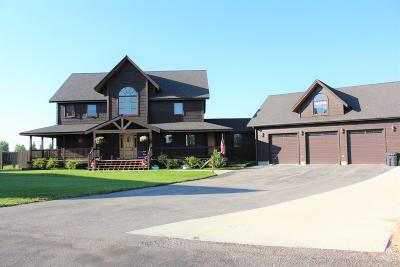 Pinedale WY Single Family Home For Sale: $675,000