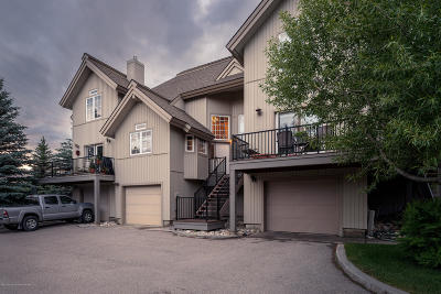 Swan Valley, Victor, Jackson, Driggs, Tetonia, Teton Village, Alta Condo/Townhouse For Sale: 112 Aspen Meadows #22