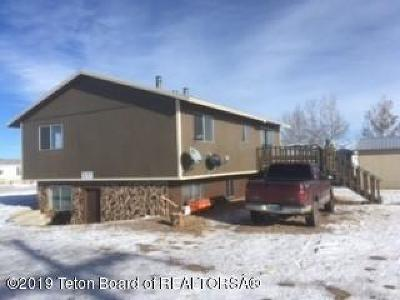 Marbleton Multi Family Home For Sale: 604 E Fourth
