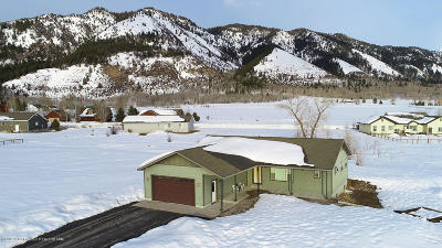 Star Valley Ranch Single Family Home Pending Contingent: 59 Bear Lake Drive