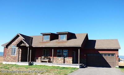 Driggs Single Family Home For Sale: 2208 Iron Wood Dr