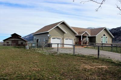 Thayne Single Family Home For Sale: 827 Lost Creek Rd.
