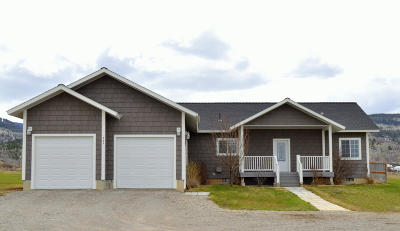 Victor Single Family Home For Sale: 933 E 5000 S