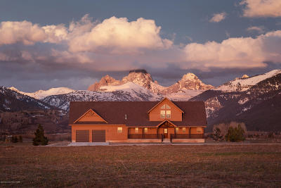 Teton Village, Tetonia, Driggs, Jackson, Victor, Swan Valley, Alta Single Family Home For Sale: 2024 Mount Moran Rd