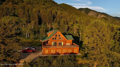 Star Valley Ranch WY Single Family Home For Sale: $869,000