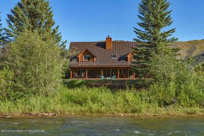 Teton Village, Tetonia, Swan Valley, Victor, Driggs, Jackson, Alta Single Family Home For Sale: 4340 E Hoback River Road