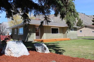Teton Village, Tetonia, Swan Valley, Victor, Driggs, Jackson, Alta Single Family Home For Sale: 475 S Jackson St