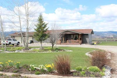 Thayne Single Family Home For Sale: 155 Hoback