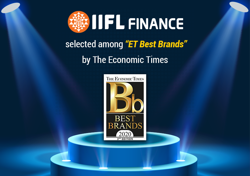"""IIFL Finance selected among """"ET Best Brands"""" by The Economic Times"""