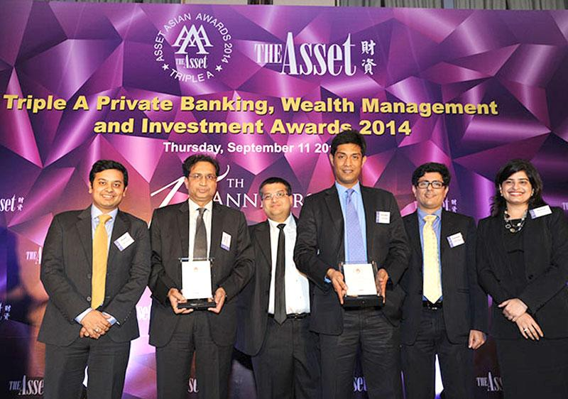 Triple A Private Banking, Wealth Management and Investment Awards 2014