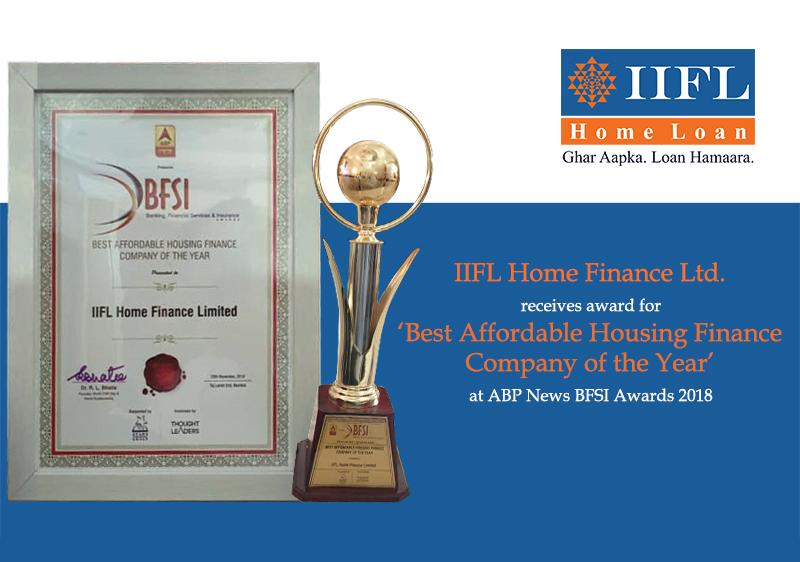 Best Affordable Housing Finance Company of the Year 2018