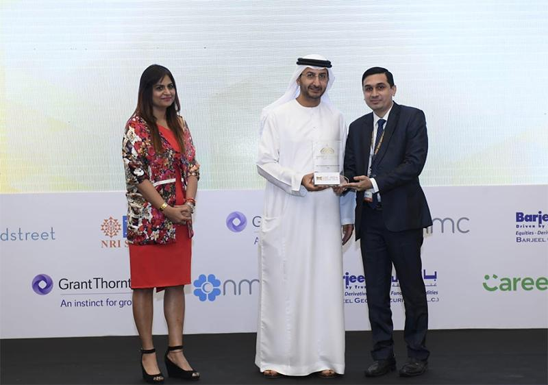 Best Financial Advisory services for NRIs' category at UAE 2018