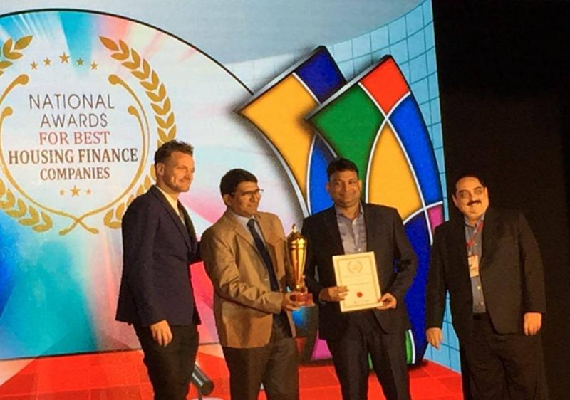 Award for Quick Disbursal, Excellence in Home Loan & Fastest Growing HFC 2017