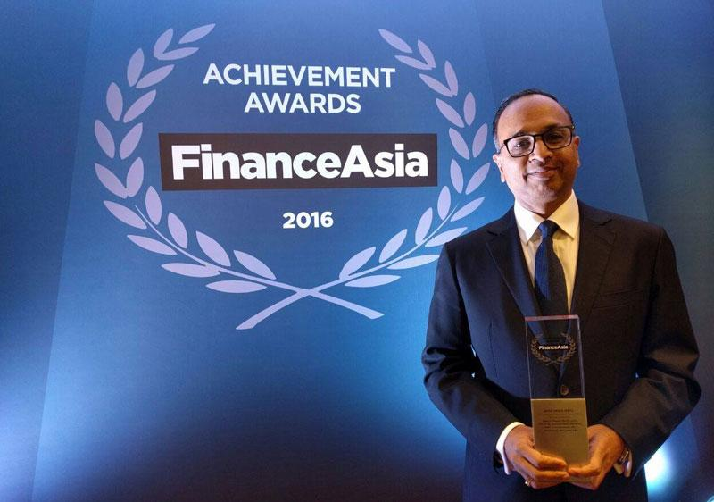 Won Finance Asia - Deal of the Year for India - for ICICI Prudential Life Insurance's $912 million IPO.