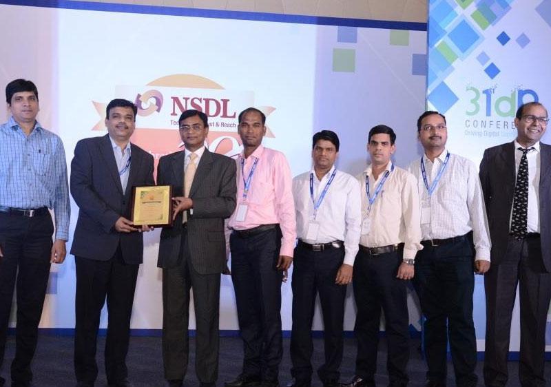 India Infoline Ltd receives award of the NSDL Star Performer