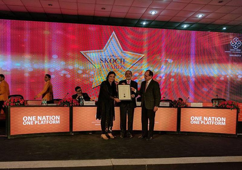 IIFL Foundation receives Skoch Blue Economy Order of Merit Award with IIFL Foundation's projects being adjudged as Top 100 projects in India.