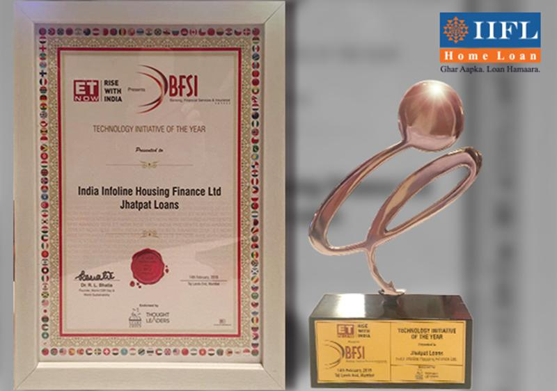 'Jhatpat Loans' wins 'Technology Initiative of the Year' 2018