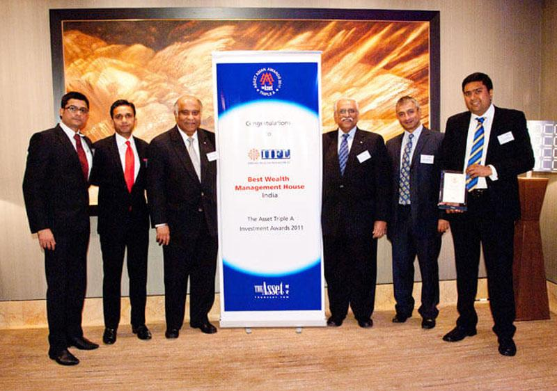 Best Wealth Management House (India), 2011 & 2012, Triple A