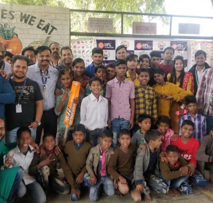 IIFL-ites making a positive IMPACT, spreading smiles on the faces of these little children