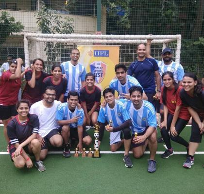 Let_s Football! On and off the field - IIFL-ites come together with great zest and passion to WIN!