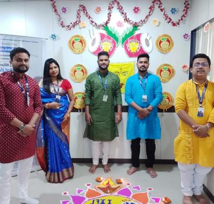 Diwali Dhamaka - infusing a spirit of joy and happiness at the workplace