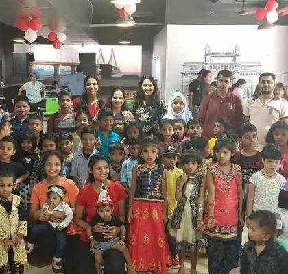 Little IIFL-ites having a gala time at the Children_s Day Event