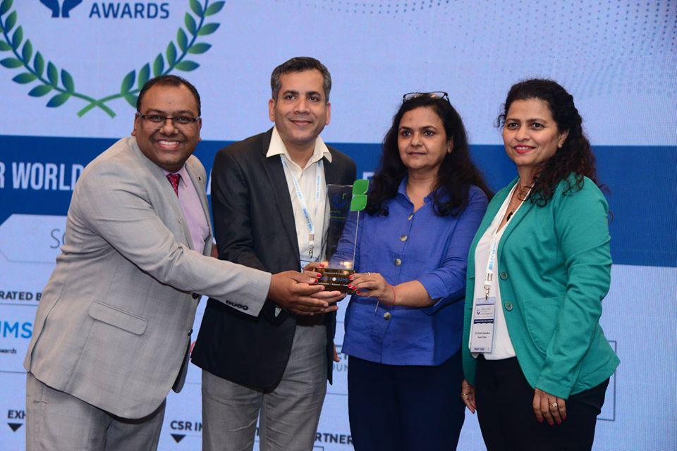 """Best Innovative CSR Project Award for """"Financial Literacy Centre project in Eastern and North-Eastern India''"""