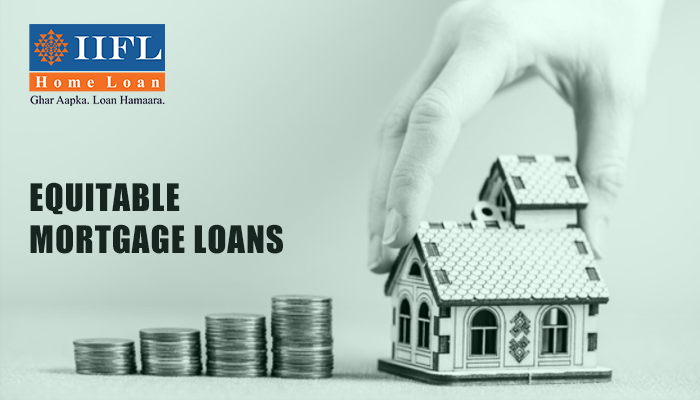 What is equitable mortgage home loan?
