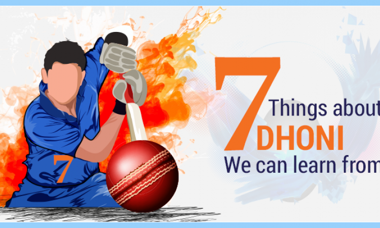 7 things about Dhoni we can learn from