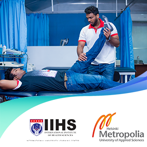 Advanced Diploma in Physiotherapy (pathway to a bachelor's degree from Helsinki Metropolia University)