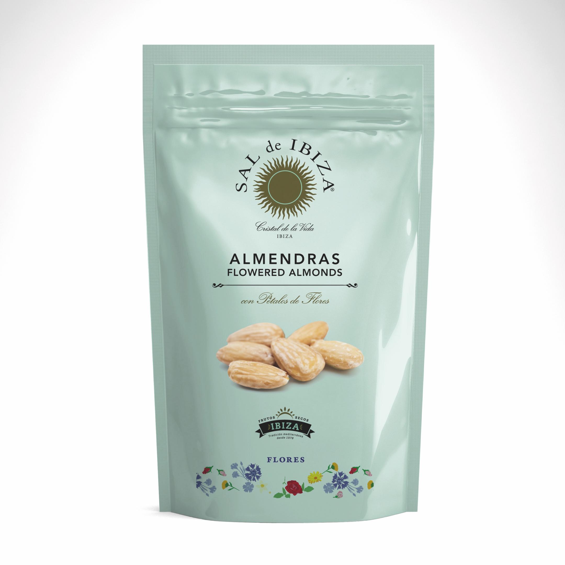 Snacks: Almendras con Flores