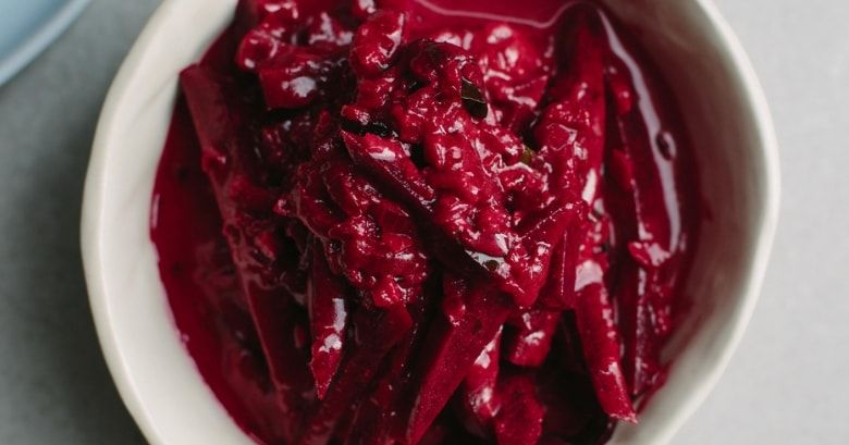 Sri Lankan beetroot curry