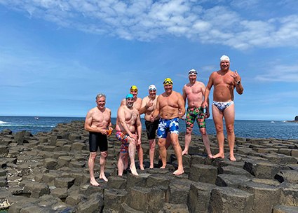 OA Giants at the Giant's Causeway, 9 August 2020