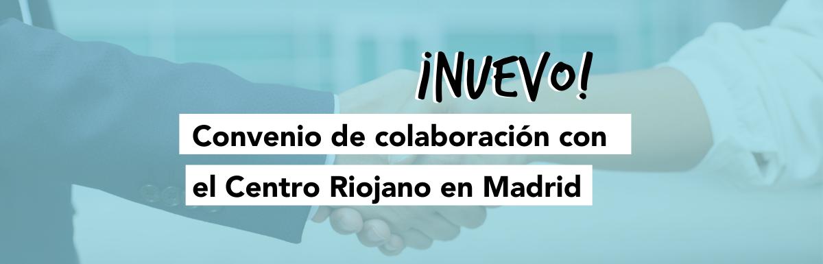 Convenio ILERNA y Centro Riojano de Madrid