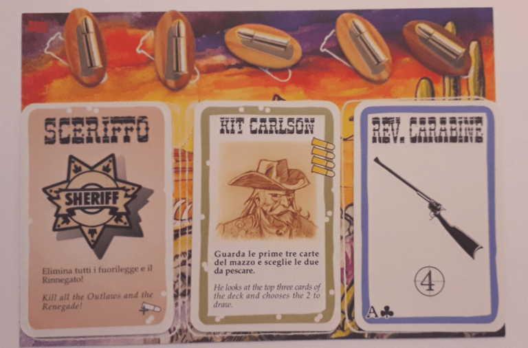 BANG Il gioco di carte per chi ama le epiche sparatorie dei film western. 30