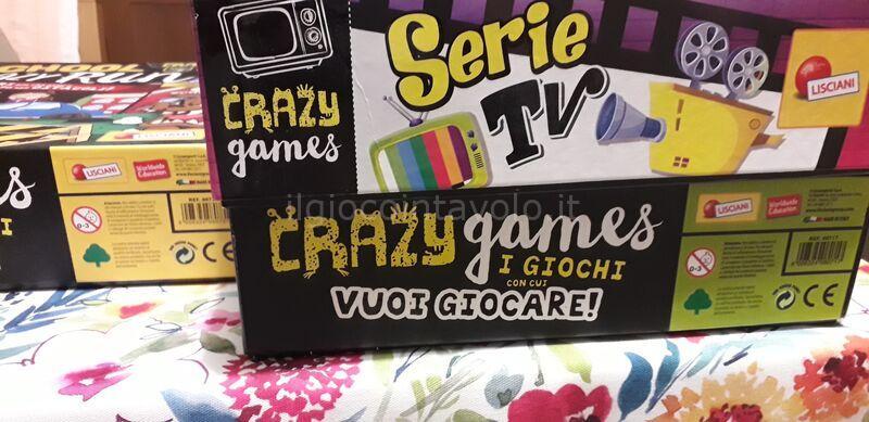 crazy games serie tv