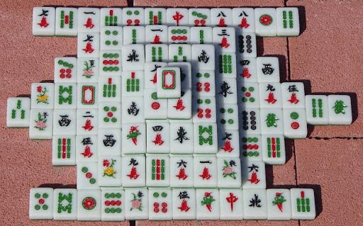 mahjong shangai solitaire