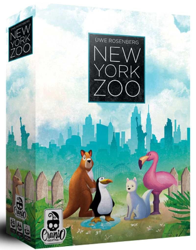 new york zoo unboxing e come si gioca