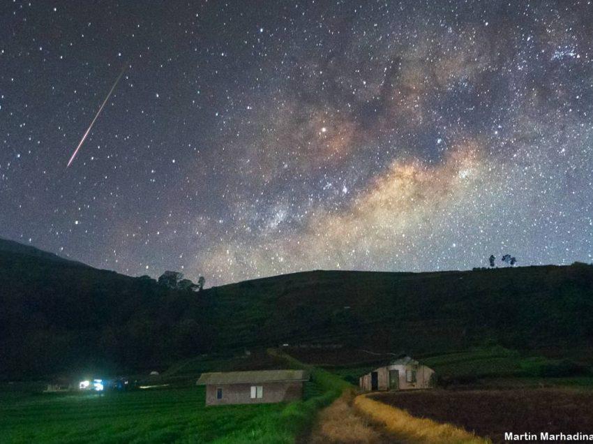 Proses Terjadinya Hujan Meteor Taurid dan Waktunya