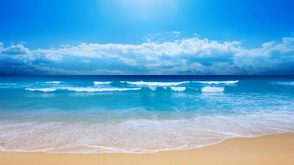 Mengapa Air Laut Berwarna Biru? Ini Penjelasannya