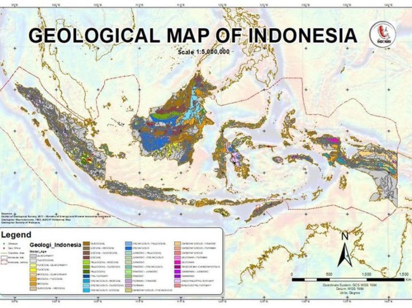Peta Geologi : Pengertian – Jenis – Komponen – Simbolnya