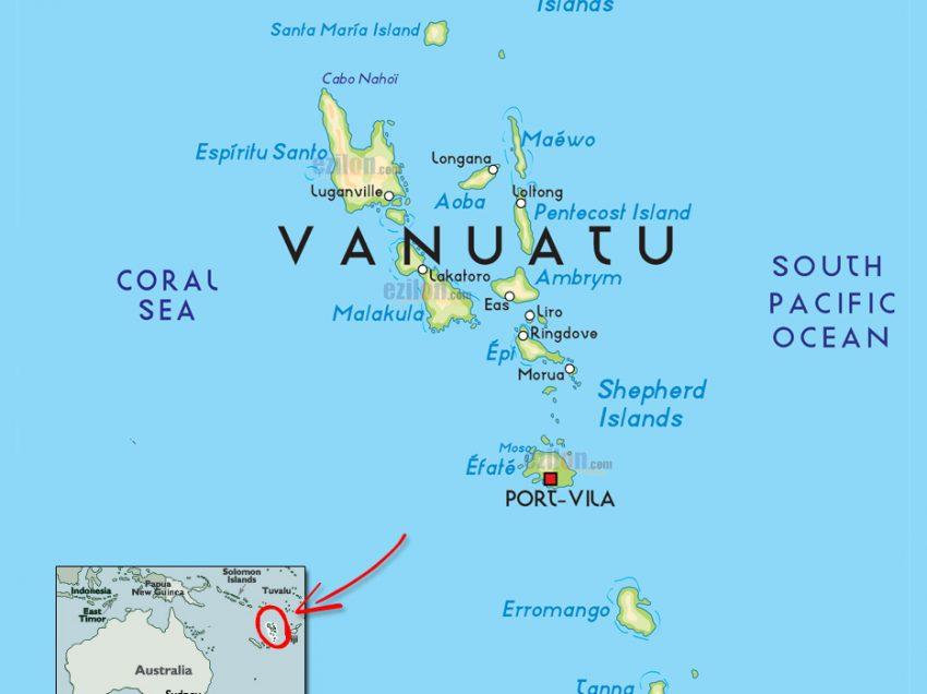 Mengenal Negara Vanuatu, Negara Kepulauan Yang Terancam Tenggelam