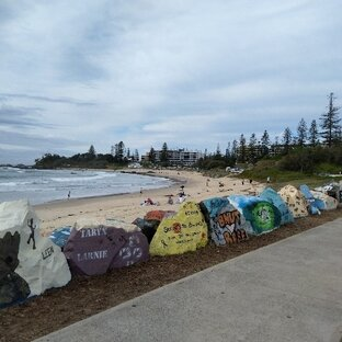 Breakwall, Port Macquarie