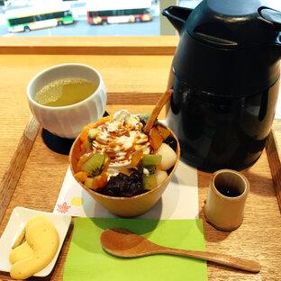 茶庭 然花抄院 渋谷ヒカリエ ShinQs店