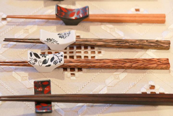 日本っぽいお箸ですが、全てがmade in タイ