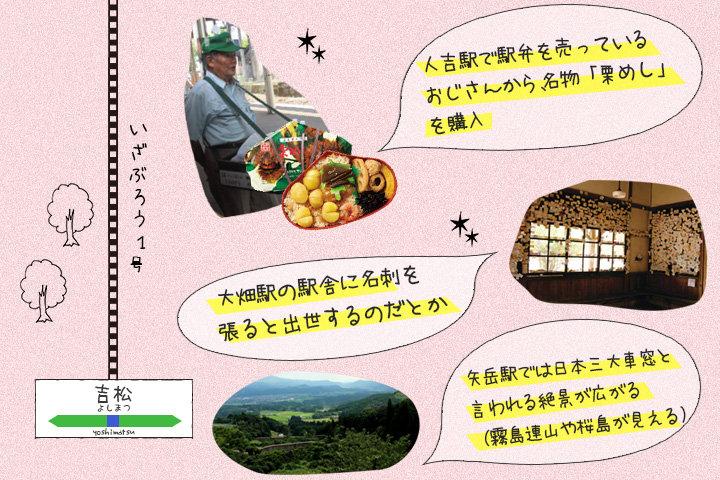 人吉駅では今どき珍しい駅弁売りのおじさんが
